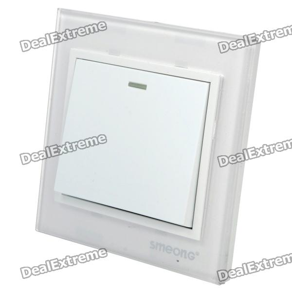 SMEONG One Gang Wall Mount Power Switch with Crystal Panel от DX.com INT