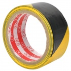 Self-Adhesive Hazard Warning PVC Tape - Black + Yellow (4.5CM x 18M)