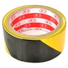 Auto-adhésif Danger Attention PVC Tape - Noir + Jaune (4.5cm x 18M)
