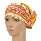 Multifunction Outdoor Sports Bicycle Cycling Seamless Head Scarf - Red + Yellow
