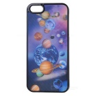 3D Planets Pattern Protective Plastic Back Case for Iphone 4 / 4S
