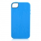 Music Symbol Pattern Protective Back Case for Iphone 4 / 4S - Blue