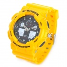 Multi-function Waterproof Analog & Digital Wrist Watch - Yellow (1 x CR2016 + SR626)