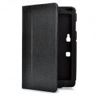 Protective PU Leather Case for LG Optimus Pad V900 - Black