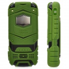 "LV599 GSM Flip Phone w/ 2.0"" Screen, Quad-Band, Dual-SIM and FM - Green"