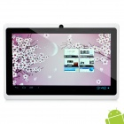 "7.0"" Capacitive Android 4.0 Tablet w/ WiFi / Camera / External 3G / HDMI - White (1.2GHz / 4GB)"