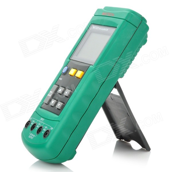 MASTECH MS7222 2.4 LCD RTD Resistance Temperature Detector - Green (1 x 9V)