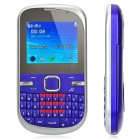 "D50 GSM QWERTY Bar Phone w/ 2.0"" Screen, Quad-Band, TV and Dual-SIM - Purple"