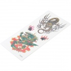 Cool Perfumed Temporary Tattoo Sticker - Colorful Dragons