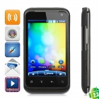 "G99 Android 2.3 GSM Bar Phone w/ 3.5"" Capacitive, Quad-Band, Dual-SIM and Wi-Fi - Black"