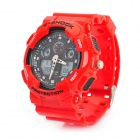 S-SHOCK Multi-Funktions-Sports Analog + Digital Quartz Taucheruhr - Rot (+ 1xCR2016 1xSR626SW)