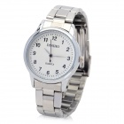 Fashion Stainless Steel Band Quartz Wrist Watch for Women - Silver (LR626)