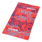 Multifunction Outdoor Sports Bicycle Cycling Seamless Head Scarf - Red