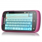 "Lenovo A520 Android 2.3 WCDMA Bar Phone avec 4.0 ""Capacitif, GPS, Wi-Fi et Dual-SIM-Rose + Rouge profonde"
