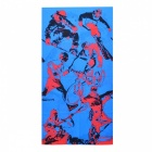 Multifuncional Outdoor Sports Bicycle Cycling Seamless Head Scarf - Azul + Vermelho + Preto