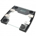 "3.2"" LCD Digital Body / Fat Scale - Silver + Grey (150kg / 2.0kg / 2 x 2032)"