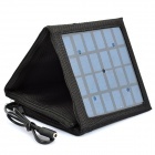 4W 660mAh Foldable Solar Panel Battery Charger w/ 6 x Adapters