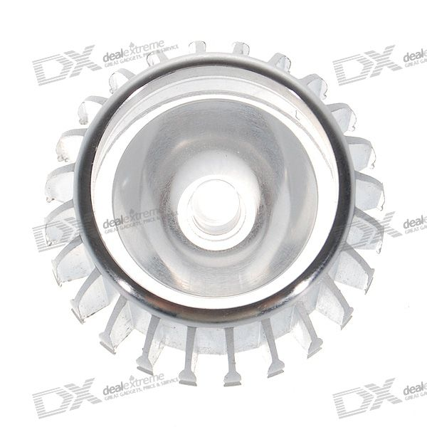 E27 DIY LED Light Bulb Casing with Focusing Optic