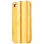 Protective Bamboo Back Case for Iphone 4 / 4S - Yellow