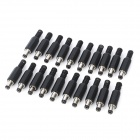X9mm JL0525B 2.5mm DC Power Plugs (20-Piece Pack)