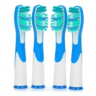 Sonic Replacement Toothbrush Heads (4-Piece Pack)