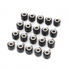 Speaker Amplifier Banana Jack Socket Connectors - Black (20-Piece Pack)