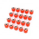 Speaker Amplifier Banana Jack Socket Connectors - Red (20-Piece Pack)