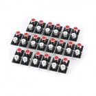 AV 4-Hembra Jack RCA enchufe (10-Piece Pack)