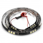 14.4W 1200LM 6000K 60x5050 SMD LED White Light flexible Streifen (12V / 120 cm)