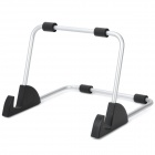 Aluminum Alloy Stand Holder Support for Ipad 2 / The New Ipad / Other Tablets - Black + Silver