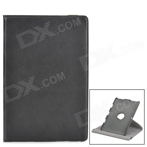 360 Degree Rotating Swivel Protective PU Leather Case for ASUS Transformer TF101 - Black protective pu leather case for asus eee pad transformer tf101 black