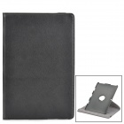 360 Degree Rotating Swivel Protective PU Leather Case for ASUS Transformer TF101 - Black