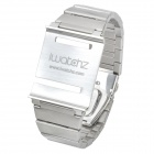Stylish Stainless Steel Watch Band for iPod Nano 6 - Silver (22cm)