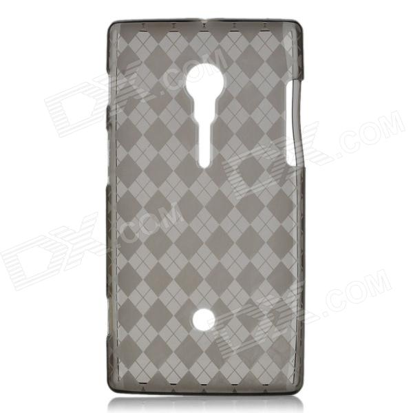 Protective TPU Case for Sony Ericsson LT28i - Grey
