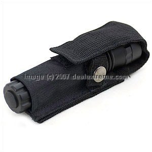Nylon Flashlight Case w/ Cover 2-Pack