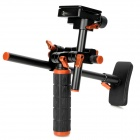 MR-V1 Portable Aluminum alloy Bracket for Video / Camera - Black + Orange