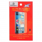 Protective PET Screen Protector Guard Film for Sony ST25I