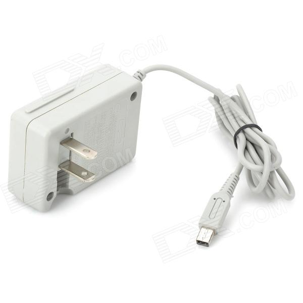 AC Power Adapter for Nintendo 3DS / DSiXL / DSiLL / DSi - Grey (US Plug / AC 100~240V)
