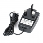 AC Power Adapter for Nintendo 3DS / DSiXL / DSiLL / DSi - Black (AC 100~250V / UK Plug)