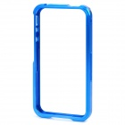 Protective Aluminum Alloy Frame Case for iPhone 4 / 4S - Blue