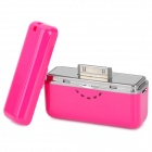 Yoobao YB615 1700mAh Portable Battery Charger für iPhone 4S / New iPad / iPod + More - Deep Pink