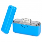 Yoobao YB615 1700mAh Portable Battery Charger für iPhone 4S / 4 / iPad / iPod + More - Blue