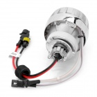 Universal Motorcycle HID 6000K White Projector Light - Silver
