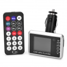 "1,8 ""LCD-Auto MP3/MP4 Player FM Transmitter w / Fernbedienung / MMC / SD - Schwarz"