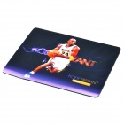 Kobe Bryant Pattern Rubber Mouse Pad - Black