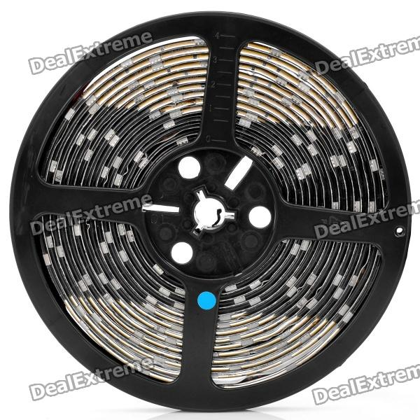 Waterproof 25W 150x5050 SMD LED Blue Light Flexible Strip for Car (12V / 5M)