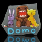 DIY-T-Shirt Transferpapier Sticker - Domo Kun-Team