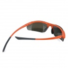 Outdoor Sports Cycling PC Lens UV400 Eye Protection Glasses Goggle - Orange