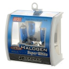 H4 4500K 1060LM White Light Halogen Car Headlamps (DC 12V / Pair)
