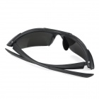 Sports Cycling PC Lens UV400 Eye Protection Glasses Goggle - Black